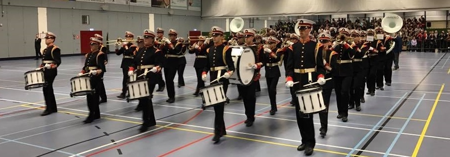 Drumfanfare Laurentius scoort op Concours Schiedam