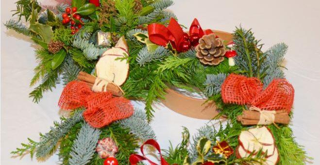 De kerststukjesactie is in volle gang!