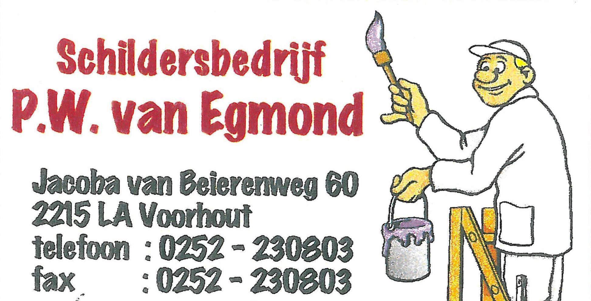 Schildersbedrijf Van Egmond